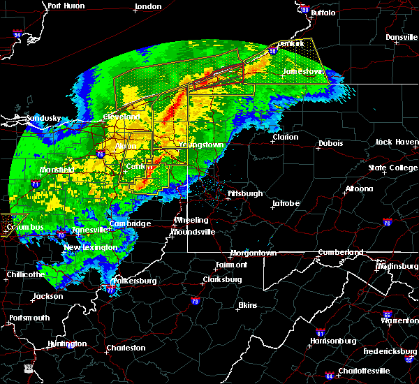 Radar Image for Severe Thunderstorms near Campbell, OH at 11/5/2017 7:46 PM EDT