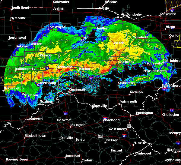 Radar Image for Severe Thunderstorms near New Albany, OH at 11/5/2017 7:50 PM EDT