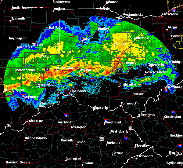 Radar Image for Severe Thunderstorms near New Albany, OH at 11/5/2017 7:59 PM EDT
