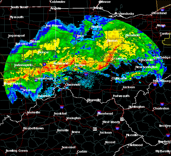 Radar Image for Severe Thunderstorms near Obetz, OH at 11/5/2017 7:59 PM EDT