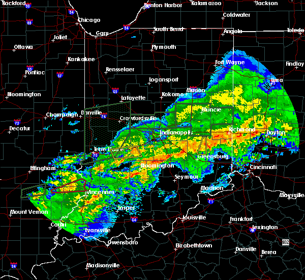 Radar Image for Severe Thunderstorms near Bloomington, IN at 11/5/2017 8:02 PM EDT