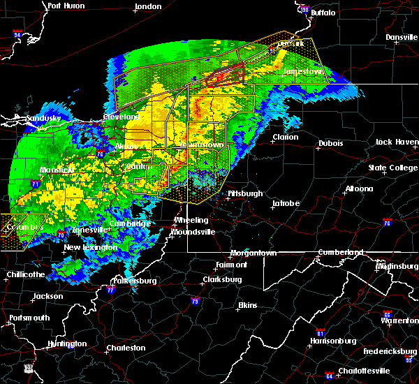 Radar Image for Severe Thunderstorms near Campbell, OH at 11/5/2017 8:05 PM EDT