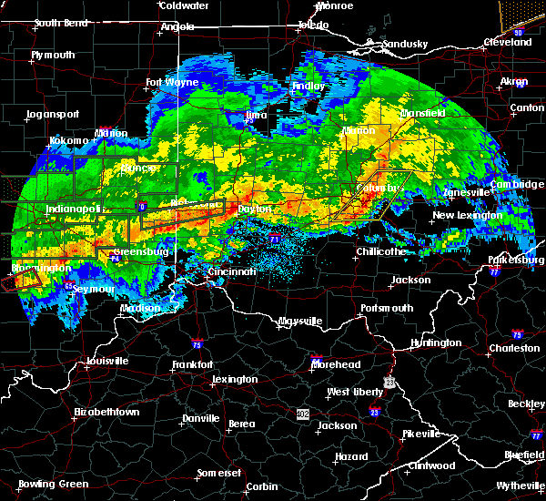 Radar Image for Severe Thunderstorms near New Albany, OH at 11/5/2017 7:11 PM EST