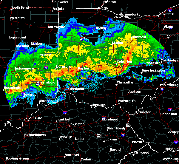 Radar Image for Severe Thunderstorms near St. Louisville, OH at 11/5/2017 7:21 PM EST