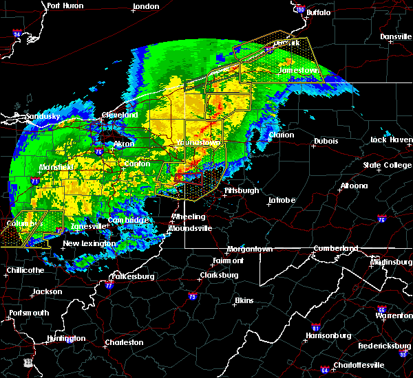Radar Image for Severe Thunderstorms near West Pittsburg, PA at 11/5/2017 7:24 PM EST