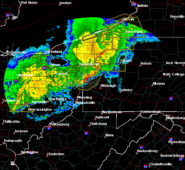 Radar Image for Severe Thunderstorms near Industry, PA at 11/5/2017 7:33 PM EST