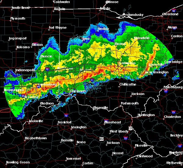 Radar Image for Severe Thunderstorms near New Lexington, OH at 11/5/2017 8:04 PM EST