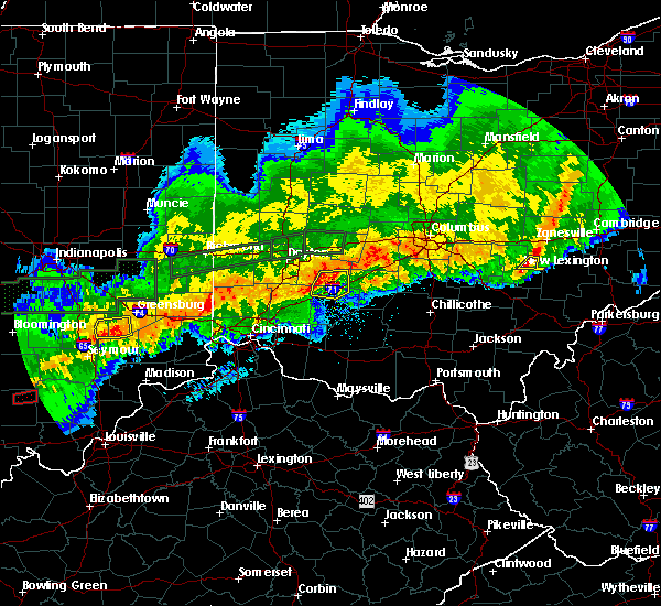 Radar Image for Severe Thunderstorms near New Lexington, OH at 11/5/2017 8:14 PM EST