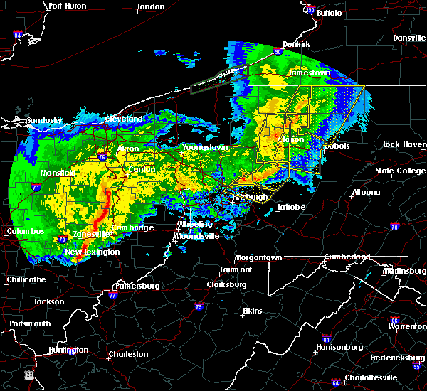 Radar Image for Severe Thunderstorms near Kiskimere, PA at 11/5/2017 8:20 PM EST
