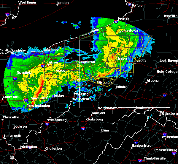 Radar Image for Severe Thunderstorms near Kittanning, PA at 11/5/2017 8:19 PM EST