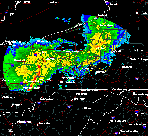 Radar Image for Severe Thunderstorms near Tuscarawas, OH at 11/5/2017 8:31 PM EST