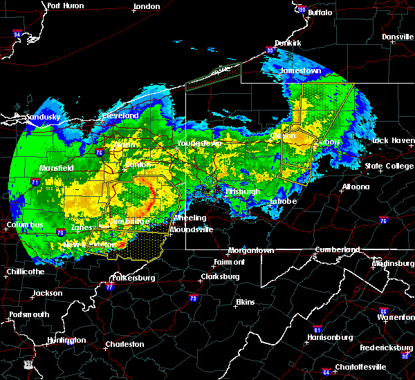 Radar Image for Severe Thunderstorms near Lafferty, OH at 11/5/2017 9:02 PM EST