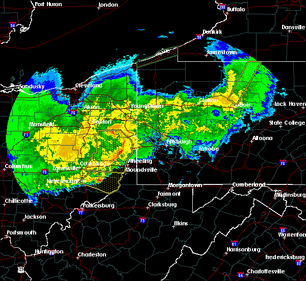 Radar Image for Severe Thunderstorms near Summitville, OH at 11/5/2017 9:20 PM EST