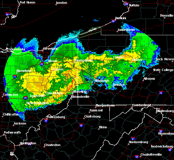 Radar Image for Severe Thunderstorms near Summitville, OH at 11/5/2017 9:26 PM EST