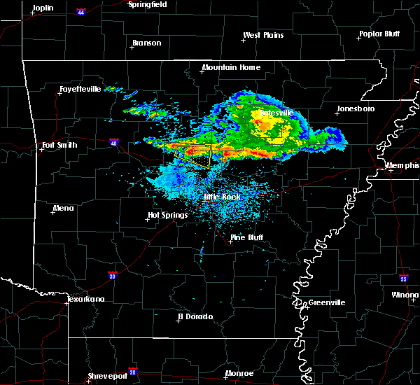 Radar Image for Severe Thunderstorms near Damascus, AR at 11/6/2017 9:10 AM CST