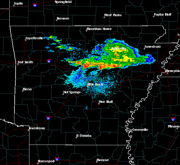 Radar Image for Severe Thunderstorms near Greenbrier, AR at 11/6/2017 9:21 AM CST