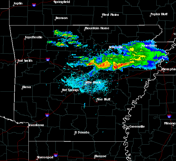 Radar Image for Severe Thunderstorms near Georgetown, AR at 11/6/2017 9:56 AM CST