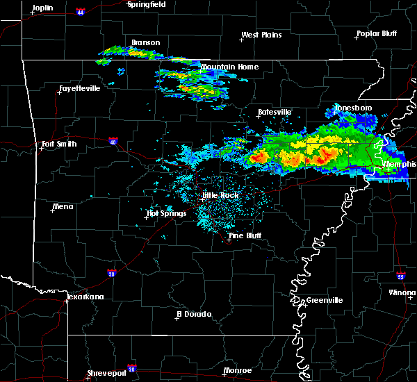 Radar Image for Severe Thunderstorms near Judsonia, AR at 11/6/2017 10:46 AM CST