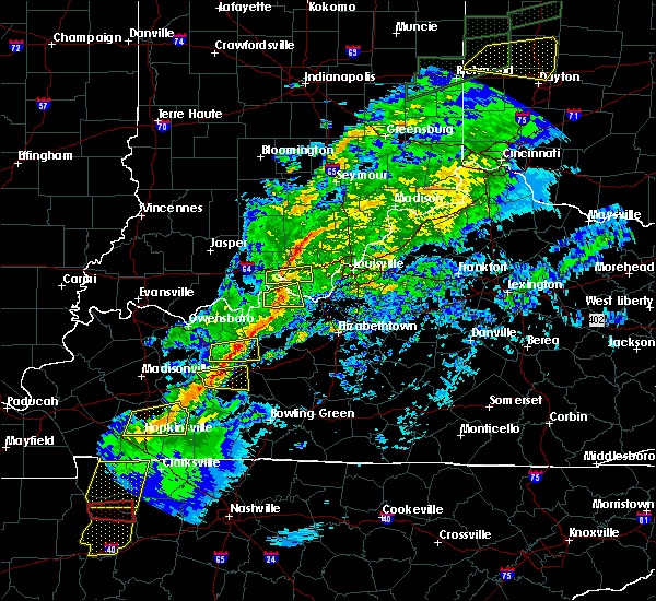 Radar Image for Severe Thunderstorms near Ekron, KY at 11/18/2017 4:28 PM EST