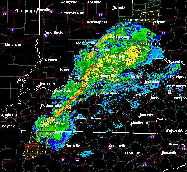 Radar Image for Severe Thunderstorms near Irvington, KY at 11/18/2017 4:38 PM EST