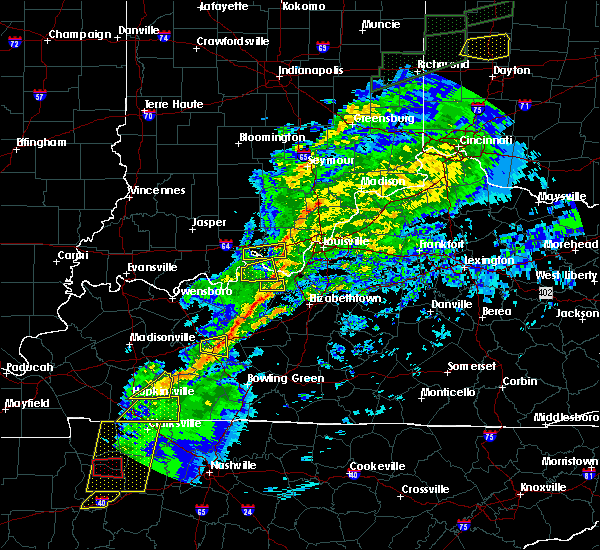 Radar Image for Severe Thunderstorms near Ekron, KY at 11/18/2017 4:44 PM EST