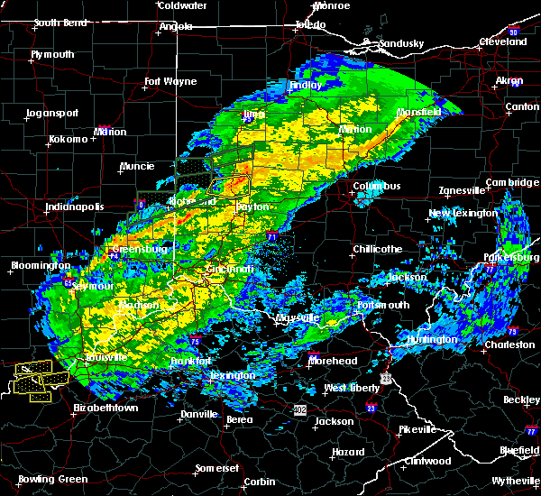 Radar Image for Severe Thunderstorms near Covington, OH at 11/18/2017 4:47 PM EST