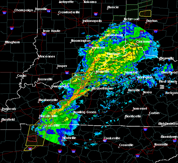 Radar Image for Severe Thunderstorms near Ekron, KY at 11/18/2017 4:50 PM EST