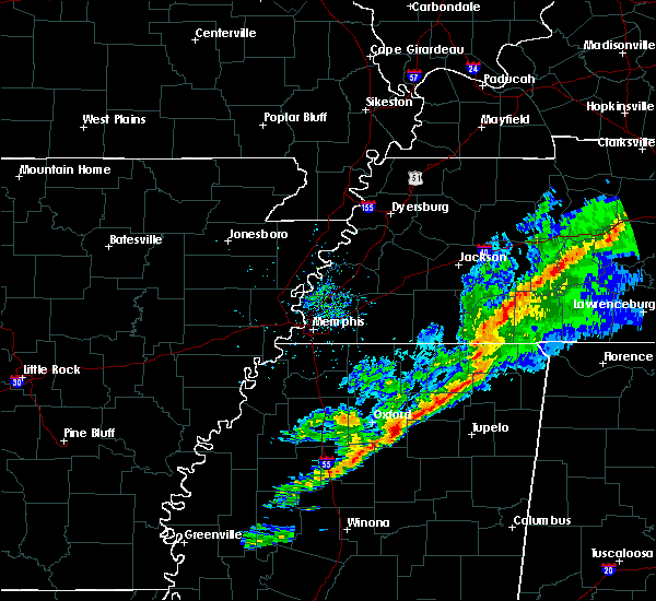 Radar Image for Severe Thunderstorms near Corinth, MS at 11/18/2017 3:50 PM CST