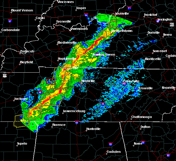 Radar Image for Severe Thunderstorms near Clarksville, TN at 11/18/2017 4:03 PM CST