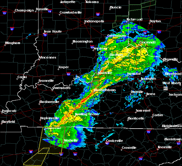 Radar Image for Severe Thunderstorms near Buffalo, KY at 11/18/2017 5:12 PM EST