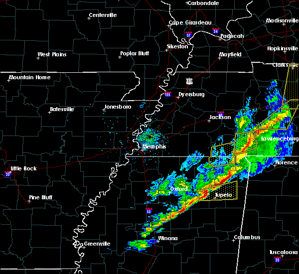 Radar Image for Severe Thunderstorms near Corinth, MS at 11/18/2017 4:13 PM CST