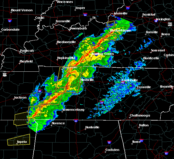 Radar Image for Severe Thunderstorms near Adams, TN at 11/18/2017 4:15 PM CST