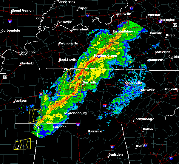 Radar Image for Severe Thunderstorms near Greenbrier, TN at 11/18/2017 4:28 PM CST