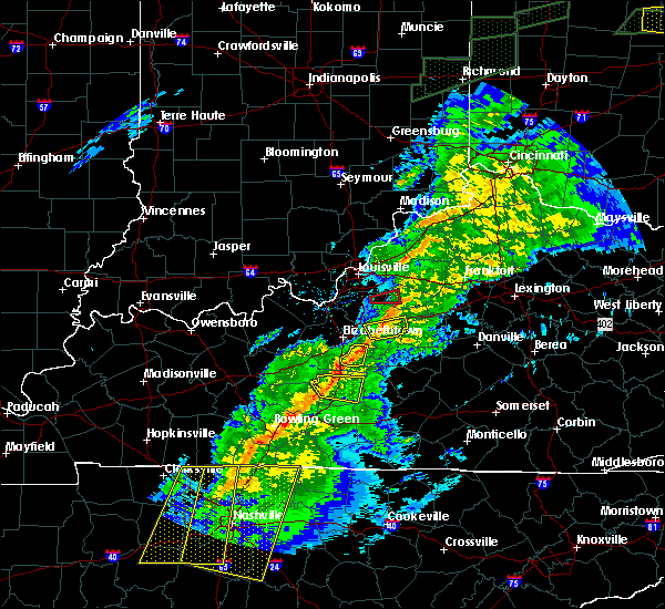 Radar Image for Severe Thunderstorms near Loretto, KY at 11/18/2017 5:33 PM EST