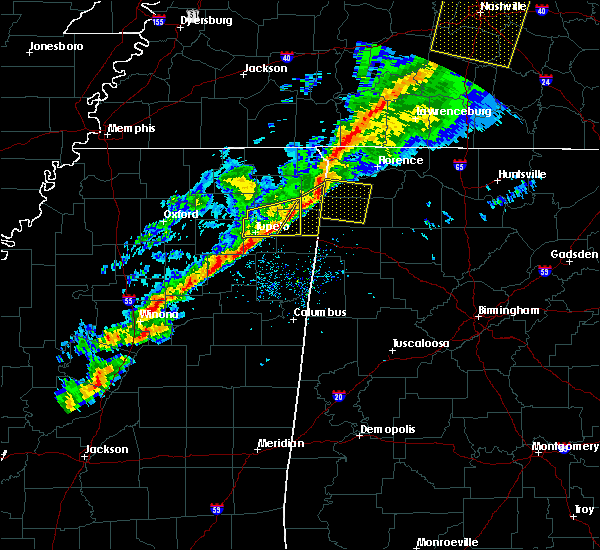 Radar Image for Severe Thunderstorms near Red Bay, AL at 11/18/2017 4:34 PM CST