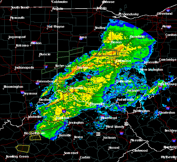 Radar Image for Severe Thunderstorms near Fairfield, OH at 11/18/2017 5:37 PM EST