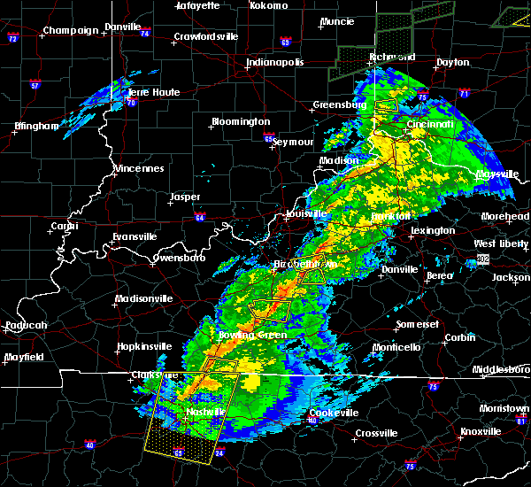 Radar Image for Severe Thunderstorms near Loretto, KY at 11/18/2017 5:40 PM EST