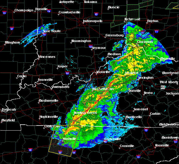 Radar Image for Severe Thunderstorms near Chaplin, KY at 11/18/2017 5:45 PM EST