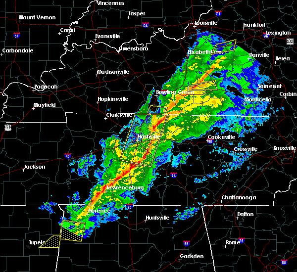 Radar Image for Severe Thunderstorms near Lebanon, TN at 11/18/2017 5:04 PM CST