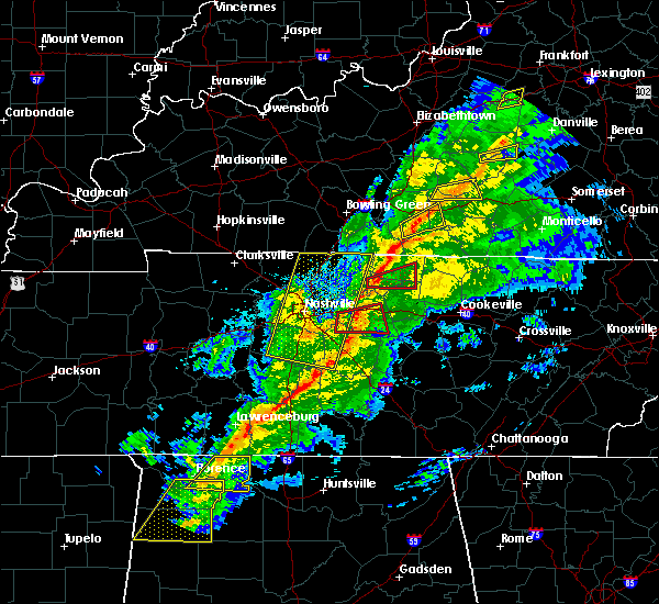 Radar Image for Severe Thunderstorms near Lebanon, TN at 11/18/2017 5:13 PM CST