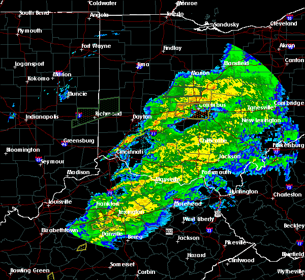 Radar Image for Severe Thunderstorms near New Albany, OH at 11/18/2017 6:25 PM EST