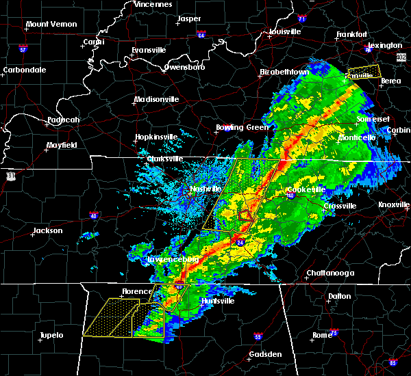 Radar Image for Severe Thunderstorms near Cookeville, TN at 11/18/2017 5:47 PM CST