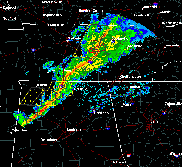 Radar Image for Severe Thunderstorms near Ardmore, AL at 11/18/2017 5:50 PM CST