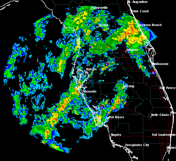 Radar Image for Severe Thunderstorms near Sarasota, FL at 12/9/2017 12:39 AM EST