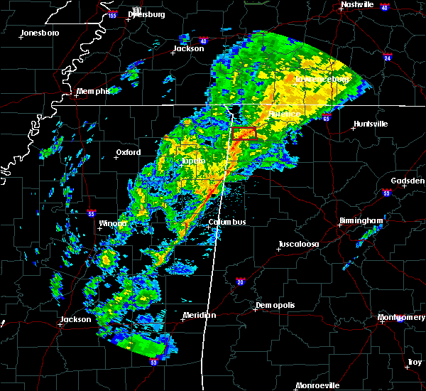 Radar Image for Severe Thunderstorms near Russellville, AL at 12/23/2017 5:36 AM CST