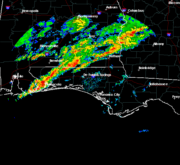 Radar Image for Severe Thunderstorms near Horn Hill, AL at 2/7/2018 10:51 AM CST