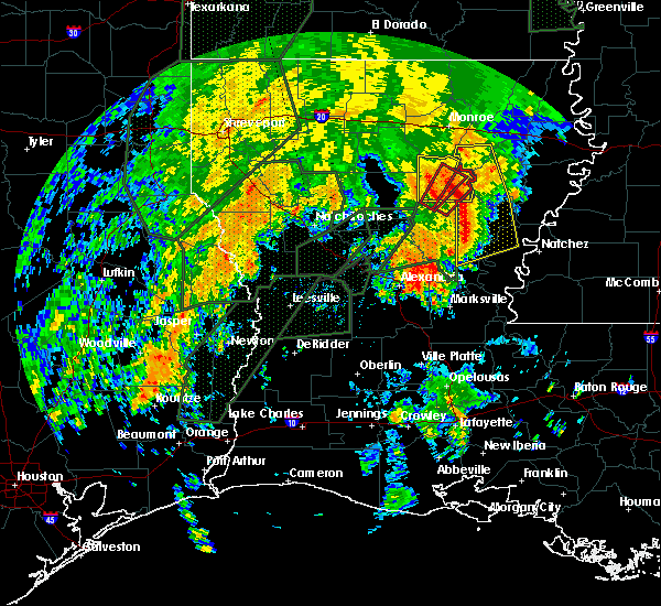 Radar Image for Severe Thunderstorms near Banks Springs, LA at 2/21/2018 1:06 PM CST