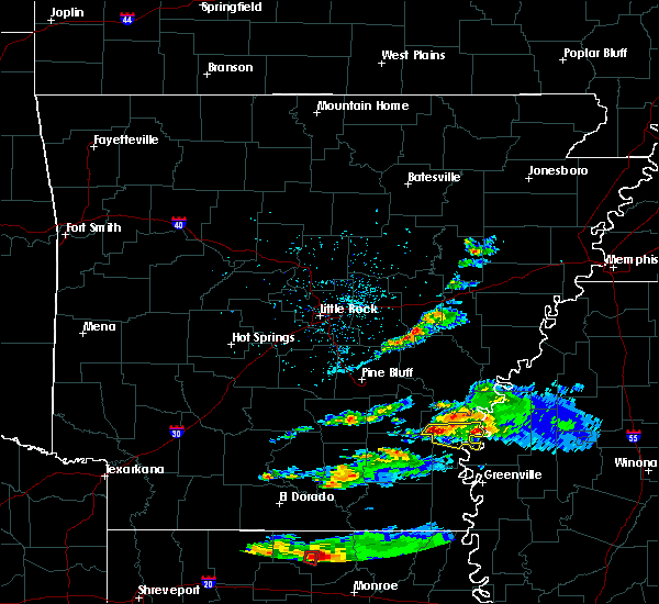 Radar Image for Severe Thunderstorms near Winchester, AR at 3/5/2018 3:56 PM CST