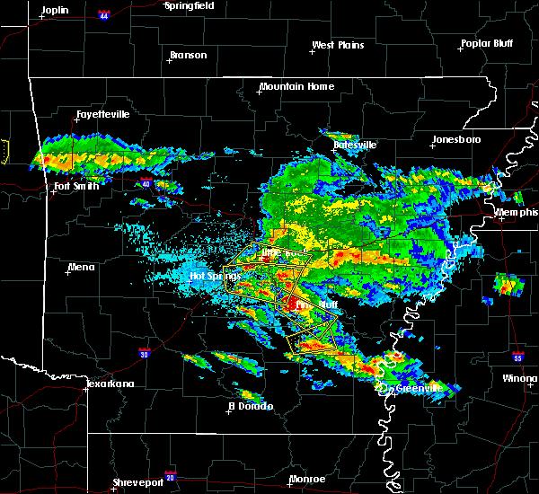 Radar Image for Severe Thunderstorms near Arkansas City, AR at 3/10/2018 9:19 PM CDT