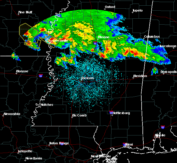 Radar Image for Severe Thunderstorms near Inverness, MS at 3/10/2018 11:11 PM CDT